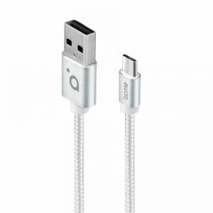 Кабель ACME CB2011S micro USB cable, 1m Silver