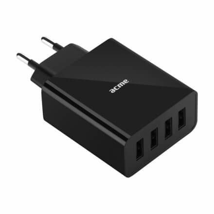 ACME CH207 wall charger AC100-240 V 5 A , 4 USB