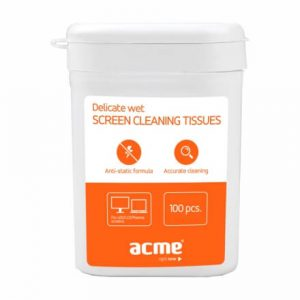 ACME CL02 Cleaning Wipes for TFTLCD Screen 100 pcs, wet