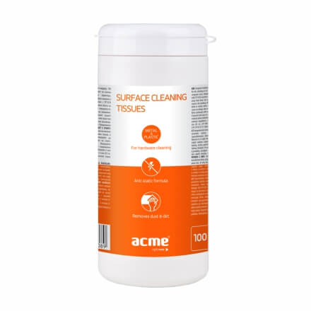 ACME CL41 Cleaning Wipes for Surface, 100 pcs, wet