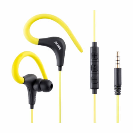ACME HE17Y Sports & action earphones with mic