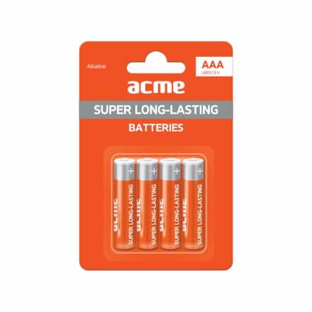 ACME LR03 Alkaline Batteries AAA 4pcs