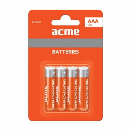 ACME LR6 Alkaline Batteries AA 4pcs