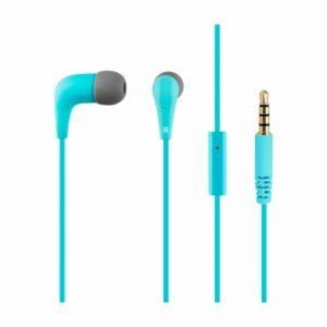 Groovy in-ear headphones with mic голубые